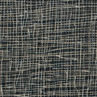 コットン&幾何学模様(カーキベージュ&ブラック)×中コーデュロイ サムネイル1
