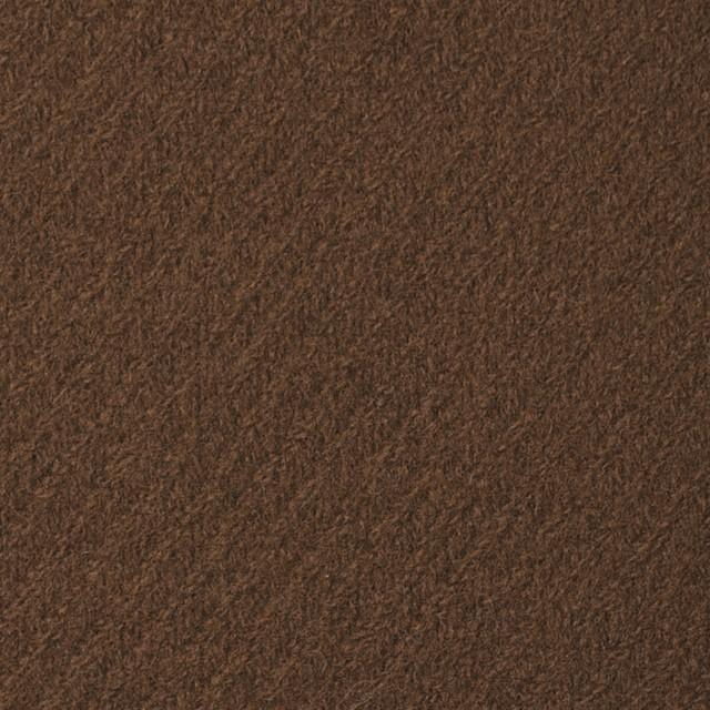 ウール×無地(カーキブラウン)×厚カルゼ イメージ1