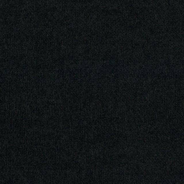 コットン&ポリウレタン×無地(ブラック)×ベッチン・ストレッチ イメージ1