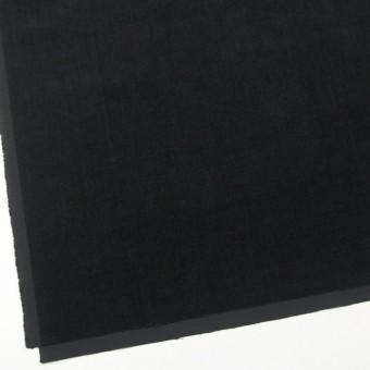コットン&ポリウレタン×無地(ブラック)×ベッチン・ストレッチ サムネイル2