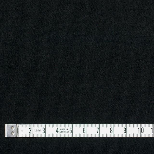 コットン&ポリウレタン×無地(ブラック)×ベッチン・ストレッチ イメージ4