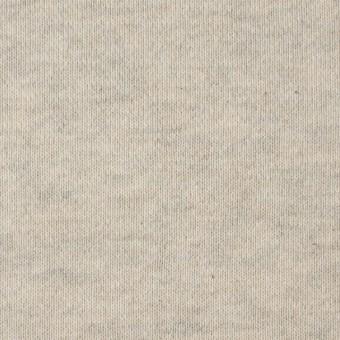 コットン×無地(キナリ&グレー)×裏毛ニット サムネイル1