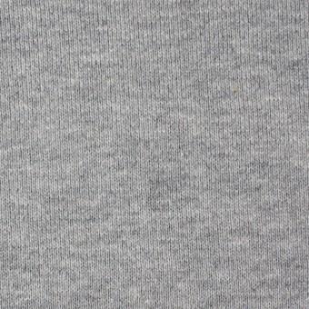 コットン×無地(グレー)×裏毛ニット_全2色 サムネイル1