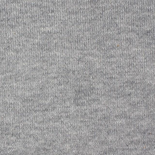 コットン×無地(グレー)×裏毛ニット_全2色 イメージ1