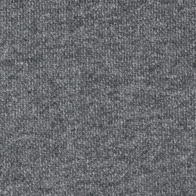 コットン×無地(チャコールグレー)×裏毛ニット_全2色 イメージ1