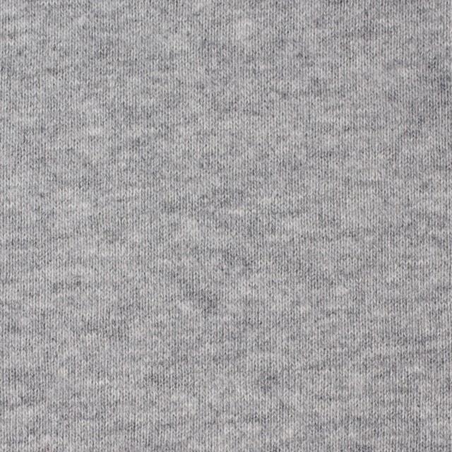 コットン×無地(グレー)×裏毛ニット_全3色 イメージ1