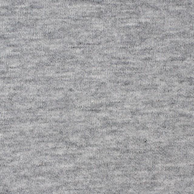 コットン×無地(グレー)×スムースニット イメージ1