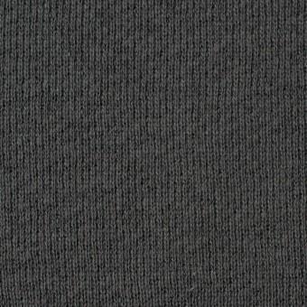 コットン×無地(スチールグレー)×裏毛ニット サムネイル1