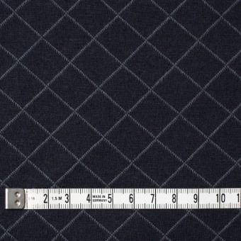 コットン&リヨセル×アーガイル(ネイビー)×W天竺ニット_全2色 サムネイル4