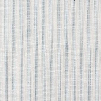 コットン×ストライプ(オフホワイト&ブルーグレー)×Wガーゼ サムネイル1