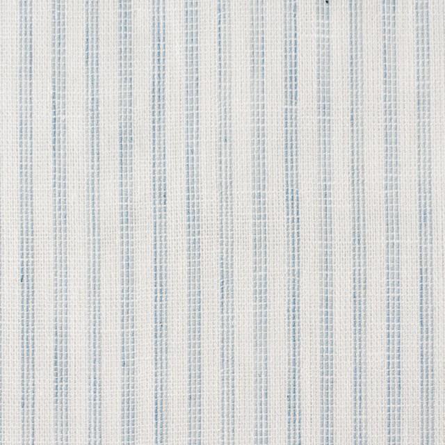 コットン×ストライプ(オフホワイト&ブルーグレー)×Wガーゼ イメージ1