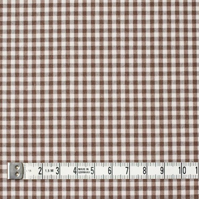 コットン×チェック(ブラウン)×ブロード イメージ4
