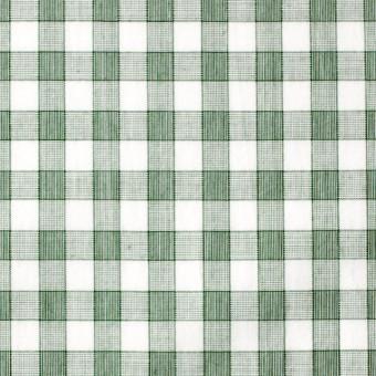 コットン×チェック(グリーン)×ブロード サムネイル1