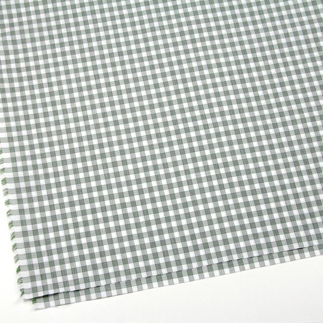 コットン×チェック(グリーン)×ブロード イメージ2