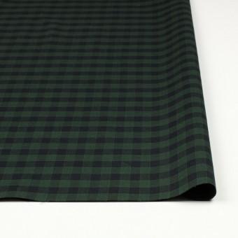 コットン×チェック(グリーン&ブラック)×薄サージ サムネイル3