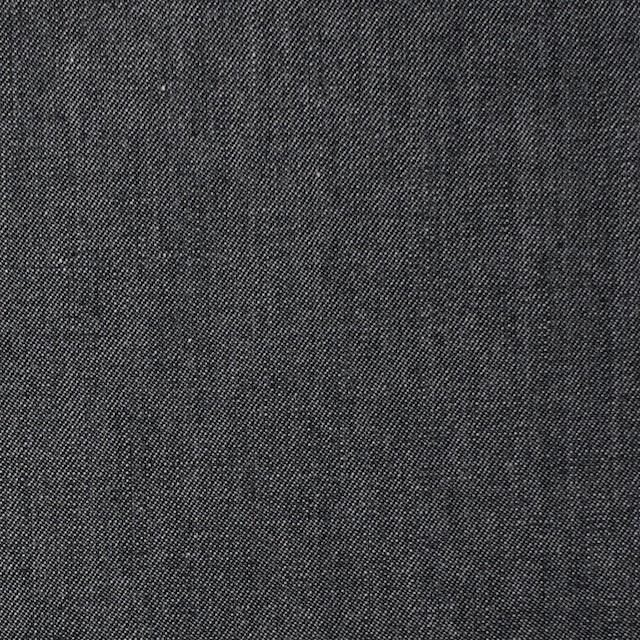 コットン×無地(ライトブラック)×薄ギャバジン イメージ1