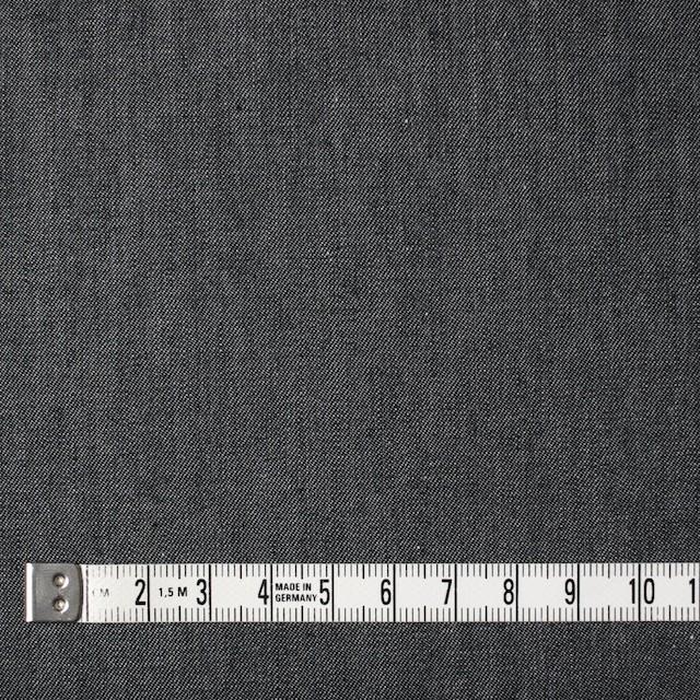 コットン×無地(ライトブラック)×薄ギャバジン イメージ4