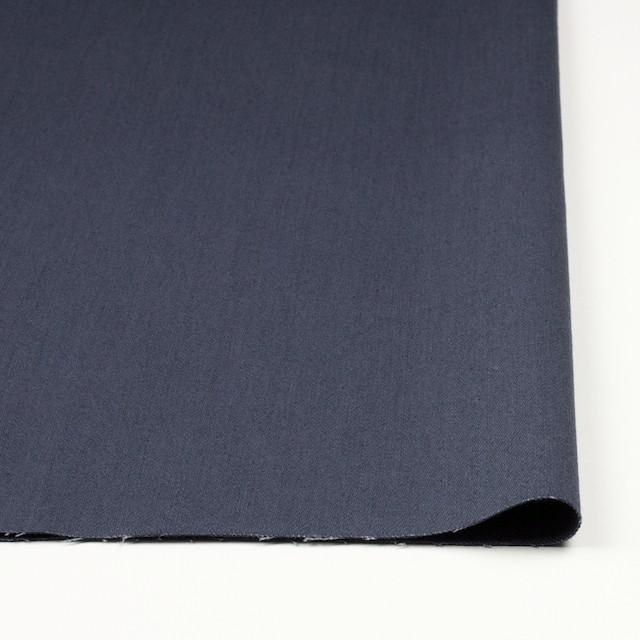 コットン&ポリウレタン×無地(スティールブルー)×チノクロス・ストレッチ_全2色 イメージ3