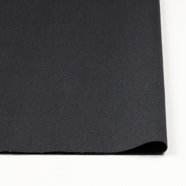 コットン&ポリウレタン×無地(アッシュネイビー)×チノクロス・ストレッチ_全2色 イメージ3