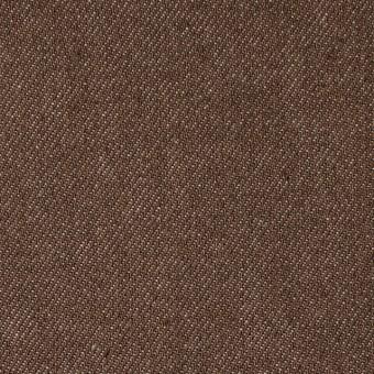 コットン×無地(ブラウン)×デニム_全5色