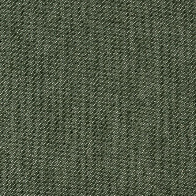 コットン×無地(フォレストグリーン)×デニム_全5色 イメージ1