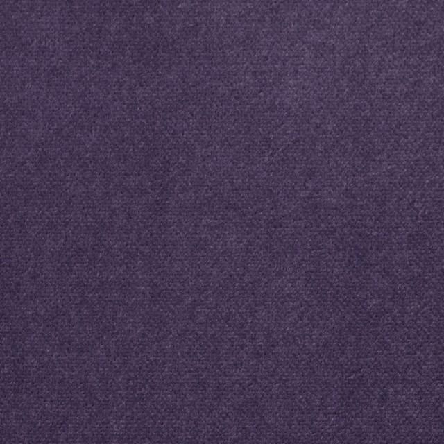 コットン×無地(バイオレット)×ベルベット_全9色 イメージ1