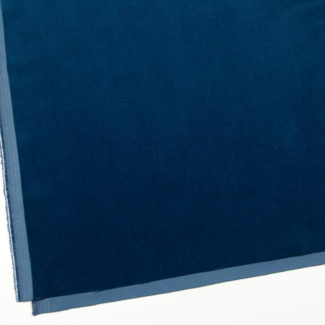 コットン×無地(ネイビーブルー)×ベルベット_全9色 イメージ2