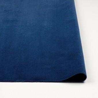 コットン×無地(ネイビーブルー)×ベルベット_全9色 サムネイル3