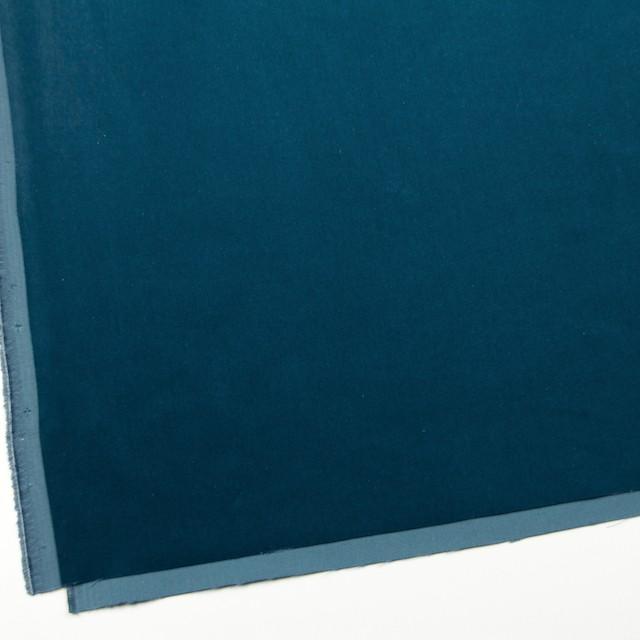 コットン×無地(ターコイズブルー)×ベルベット_全9色 イメージ2