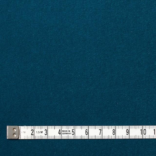 コットン×無地(ターコイズブルー)×ベルベット_全9色 イメージ4