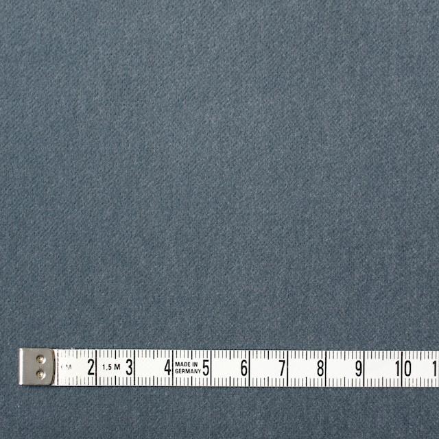 コットン×無地(ブルーグレー)×ベルベット_全9色 イメージ4