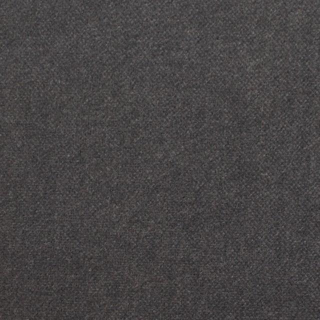 コットン×無地(チャコールグレー)×ベルベット_全9色 イメージ1