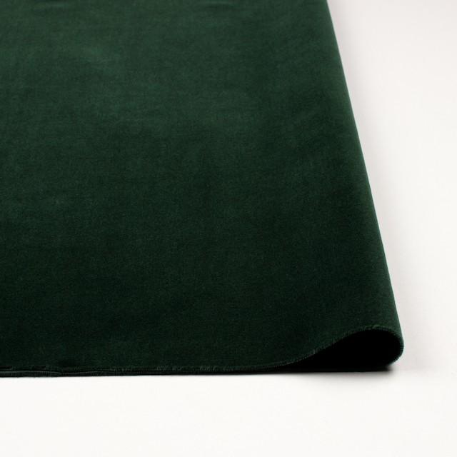 コットン×無地(ダークグリーン)×ベルベット_全3色 イメージ3