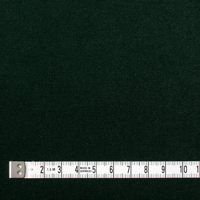 コットン×無地(ダークグリーン)×ベルベット_全3色 イメージ4
