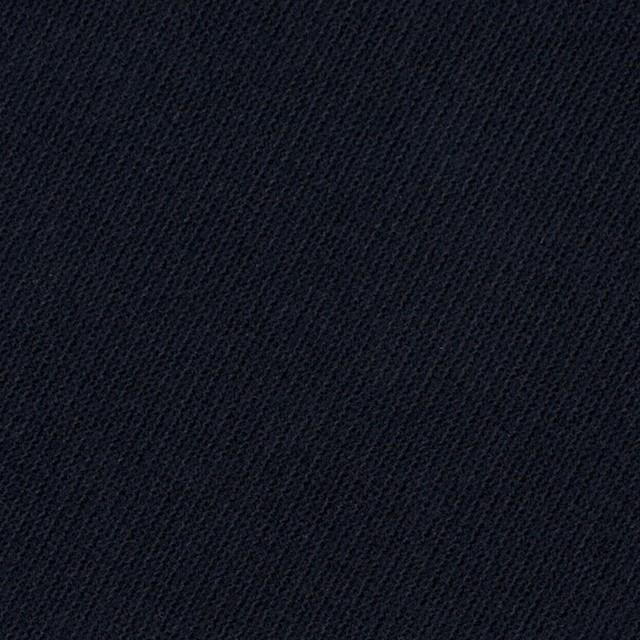 コットン&ポリウレタン×無地(ダークネイビー)×モールスキン・ストレッチ_全2色 イメージ1