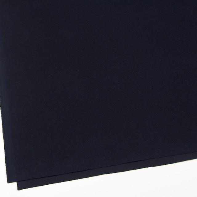 コットン&ポリウレタン×無地(ダークネイビー)×モールスキン・ストレッチ_全2色 イメージ2