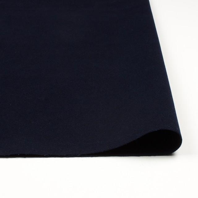 コットン&ポリウレタン×無地(ダークネイビー)×モールスキン・ストレッチ_全2色 イメージ3