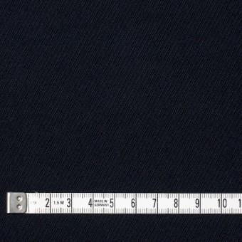 コットン&ポリウレタン×無地(ダークネイビー)×モールスキン・ストレッチ_全2色 サムネイル4