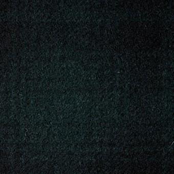 ウール&ナイロン×チェック(グリーン&ブラック)×フラノ(フランネル) サムネイル1