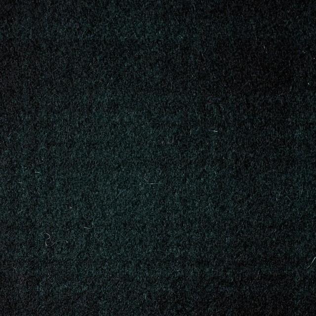 ウール&ナイロン×チェック(グリーン&ブラック)×フラノ(フランネル) イメージ1