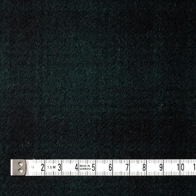 ウール&ナイロン×チェック(グリーン&ブラック)×フラノ(フランネル) イメージ4