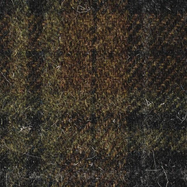 ウール×チェック(オータムリーフ&チャコールグレー)×ツイード イメージ1