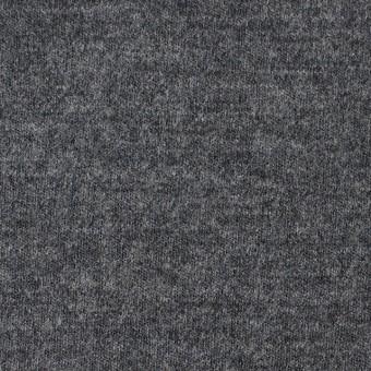 ウール×無地(チャコールグレー)×圧縮ニット サムネイル1