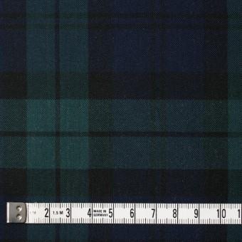 コットン×チェック(ブラックウォッチ)×薄サージ サムネイル4