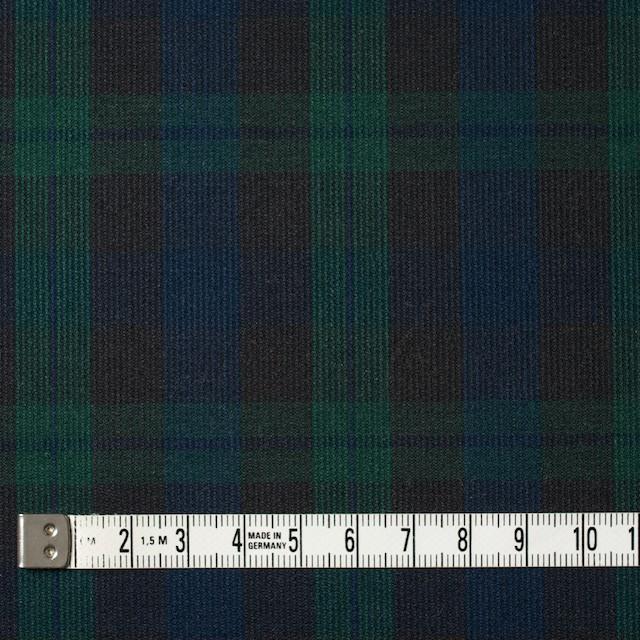 コットン×チェック(ブラックウォッチ)×コードレーン イメージ4