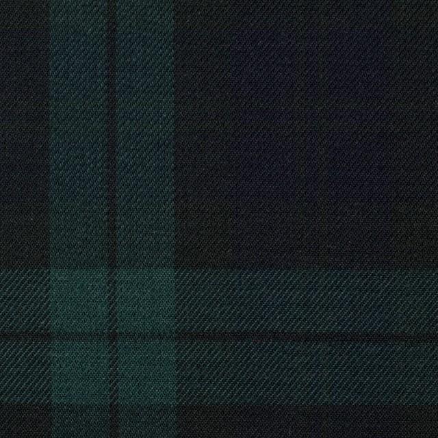 コットン×チェック(ブラックウォッチ)×ビエラ イメージ1