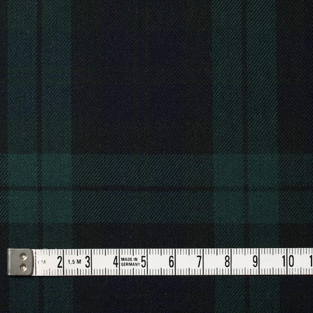 コットン×チェック(ブラックウォッチ)×ビエラ イメージ4