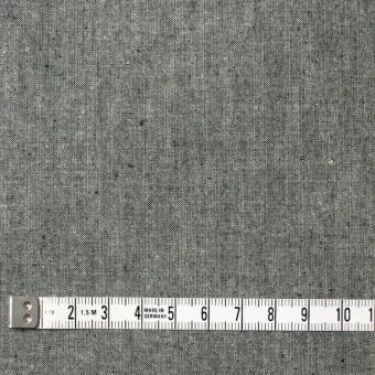 コットン×無地(モスグレー)×ダンガリー サムネイル4