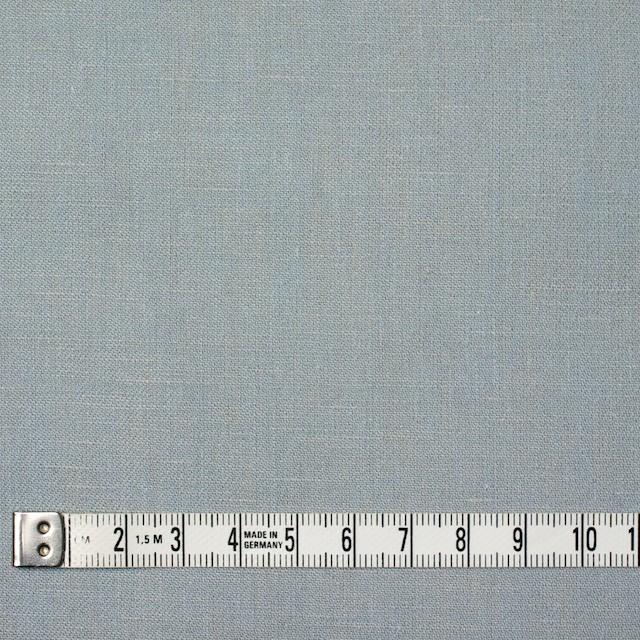 リネン&コットン×無地(サックスグレー)×サージシャンブレー イメージ4
