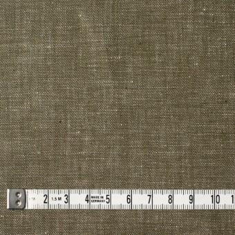 リネン&コットン×無地(オリーブグリーン)×サージシャンブレー_全3色 サムネイル4
